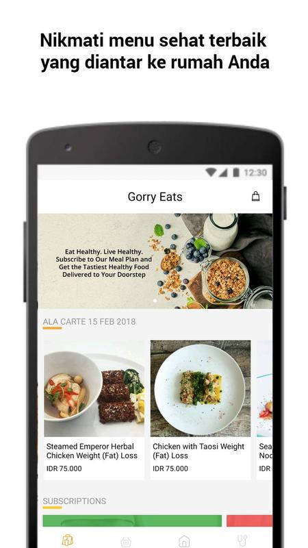 Gorrywell healthy food delivery nutrition coach for android apk gorrywell healthy food delivery nutrition coach poster forumfinder Choice Image