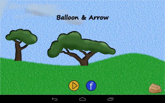 Balloon & Arrow poster