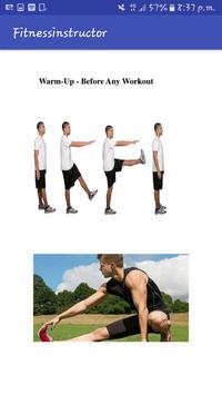 Fitness Instructor poster