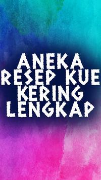 Aneka Resep Kue Kering Lengkap poster