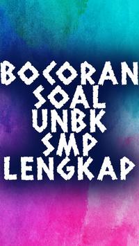 Bocoran Soal UNBK SMP Lengkap poster