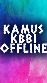Kamus KBBI Offline poster