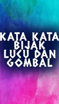 Kata Kata Bijak Lucu & Gombal poster