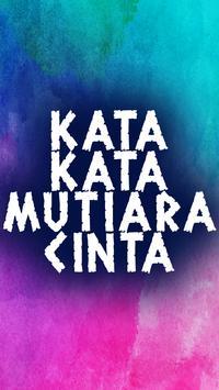 Kata Kata Mutiara Cinta poster