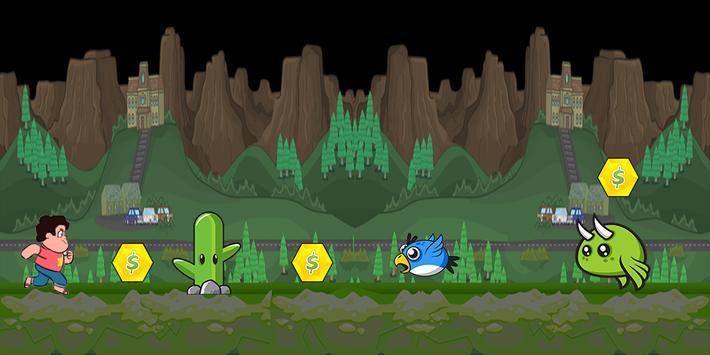 Steven Run In Univers Adventure apk screenshot
