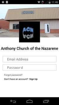 Anthony Nazarene Church poster
