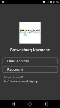 Brownsburg Nazarene poster