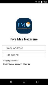 Five Mile Nazarene poster