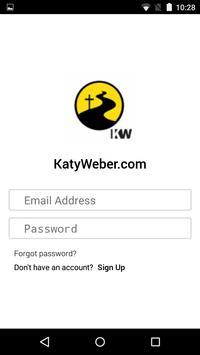 KatyWeber.com poster
