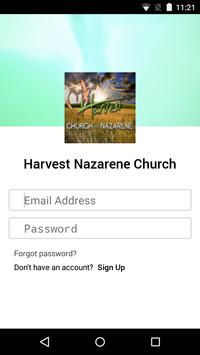 Harvest Nazarene Church poster