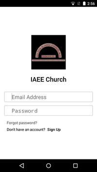 IAEE Church poster