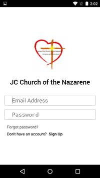JC Church of the Nazarene poster