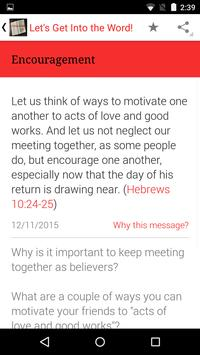 Let's Get Into the Word! apk screenshot