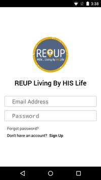 REUP Living By HIS Life poster