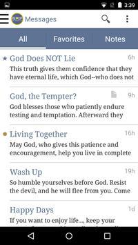 REUP Living By HIS Life apk screenshot