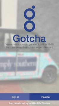 Gotcha - Get from A to B FREE! apk screenshot