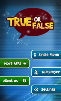 True or False - Test Your Wits poster
