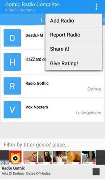 Gothic Radio Complete apk screenshot