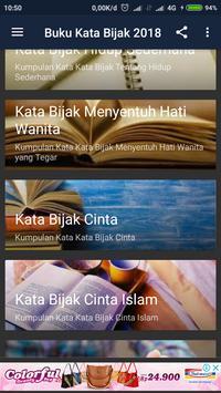 Buku Kata Bijak 2018 apk screenshot