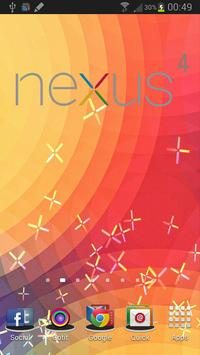 Nexus 4 Live Wallpaper poster