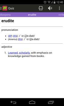 Word Cram - Vocabulary Builder apk screenshot