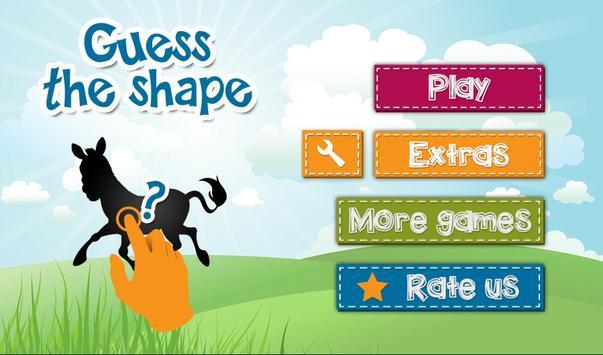 4 Kids: Guess the shape quiz screenshot 11