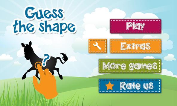 4 Kids: Guess the shape quiz screenshot 1