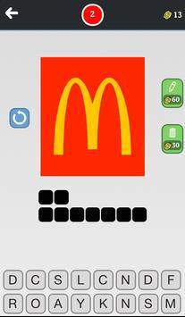 Food quiz - Guess the brand! apk screenshot