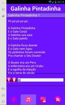 Galinha Pintadinha Music Lyric poster
