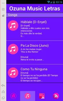 Ozuna Music Lyrics apk screenshot