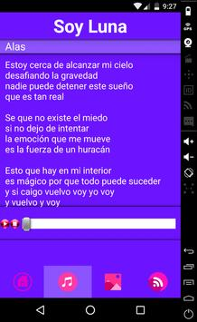 Soy Luna Music Lyrics apk screenshot