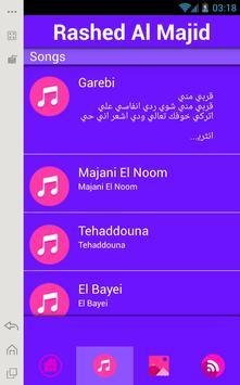 Rashed Al-Majed Music Lyrics poster