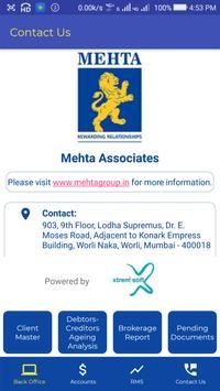 Mehta Associates screenshot 2