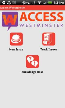 Access Westminster poster