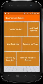 Government Tender screenshot 1