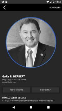 Governor's Energy Summit poster
