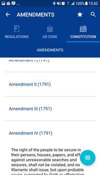 GovRegs: US Constitution, laws, & regulations imagem de tela 3