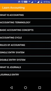 Learn Basic Accounting poster