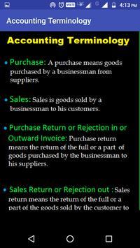 Learn Basic Accounting apk screenshot