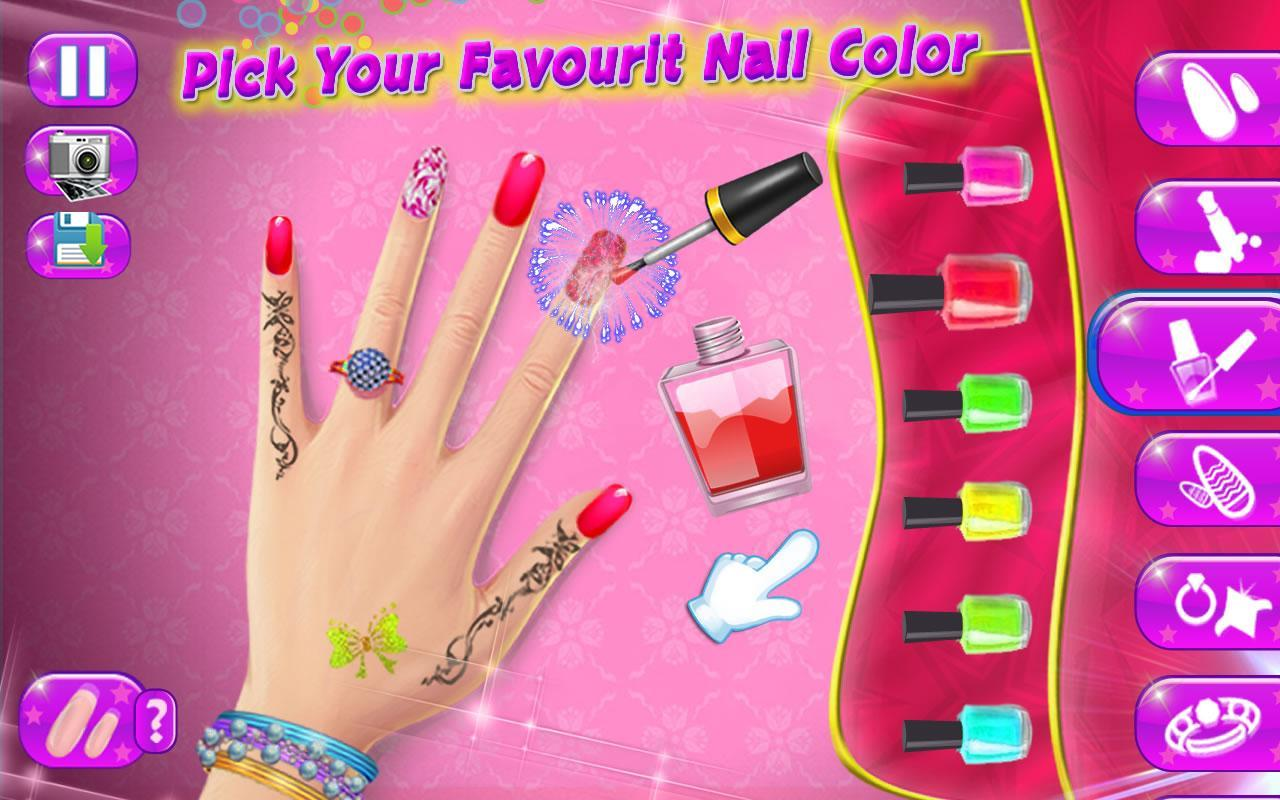Fashion Cute Nail Design Polish Games for Android - APK Download