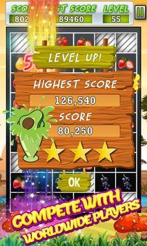 Real Fruit Crash Candy Blasting Game poster