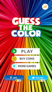 Guess the Color poster