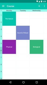 Smart Class Schedule poster