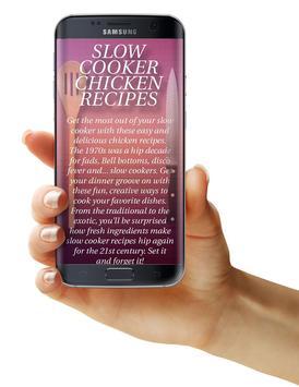 Slow Cooker Chicken Recipes apk screenshot