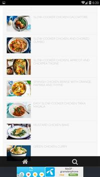 Slow Cooker Chicken Recipes screenshot 3
