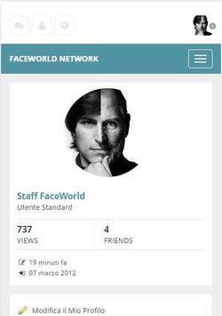 Social FaceWorld poster