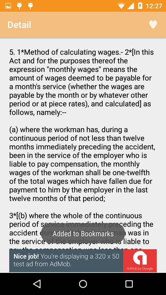 Labour law act