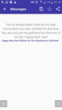 Awesome New Year Messages 2018 screenshot 2