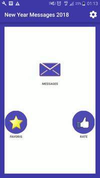 Awesome New Year Messages 2018 screenshot 5
