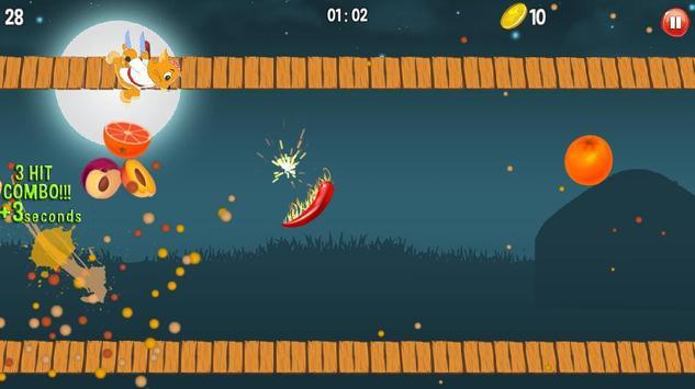 TOWUSGAN - NEXT FRUIT SLICE GAME screenshot 1
